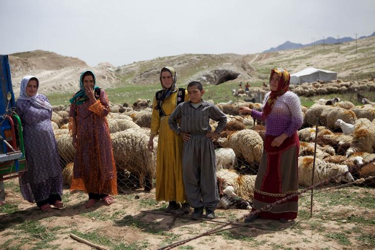 Nomads in the Lorestan region | ©Ninara:flickr