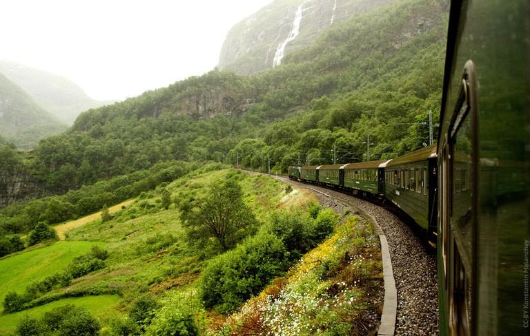 On board the Flåm Railway | © Konstantin Malanchev : Flickr
