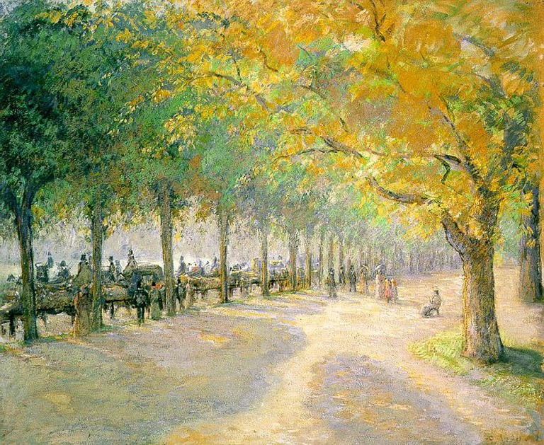 Camille Pissarro, 'Hype Park' | WikiCommons