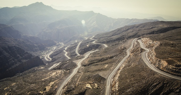 The Scenic Drive to Ras Al Khaimah