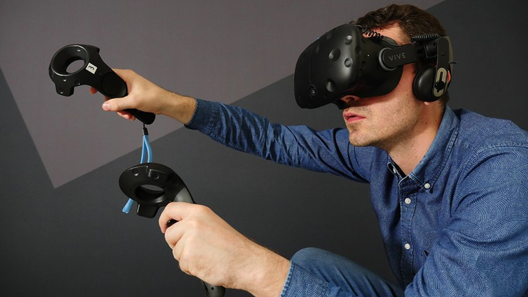 High-end gear like the HTC Vive makes gameplay seamless