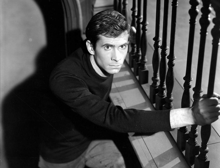 Norman Bates (Anthony Perkins) in Psycho