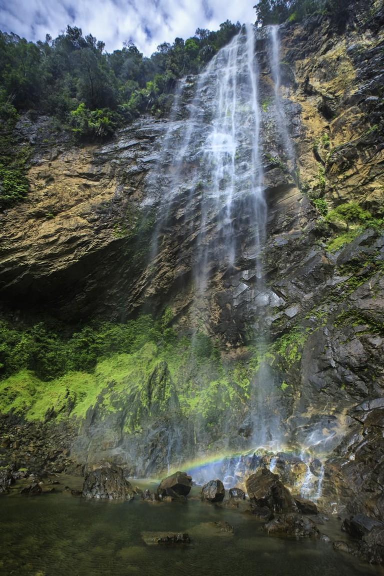 Rainbow Waterfall near Lembing River