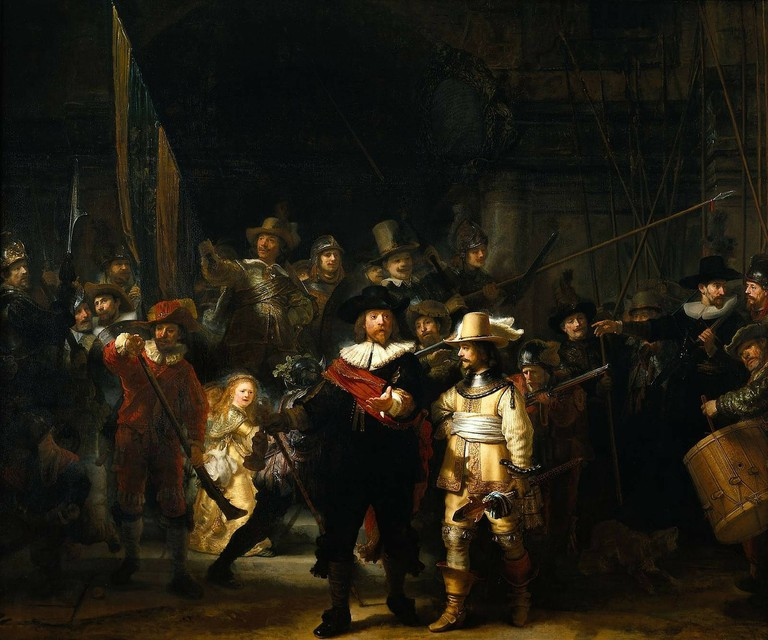 Rembrandt, 'The Night Watch', 1642 | Courtesy of Rijksmuseum Amsterdam / WikiCommons