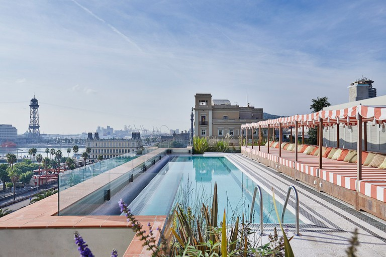 The rooftop pool Courtesy of Soho House