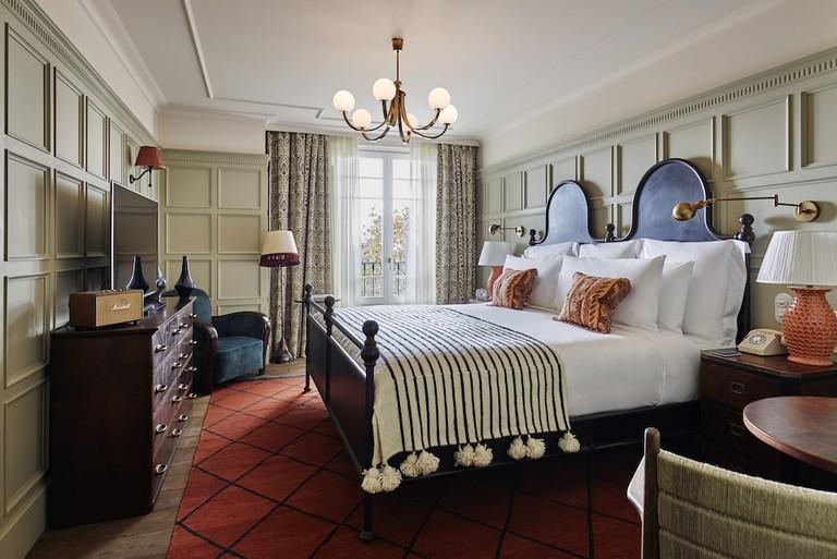 Bedroom Courtesy of Soho House Barcelona