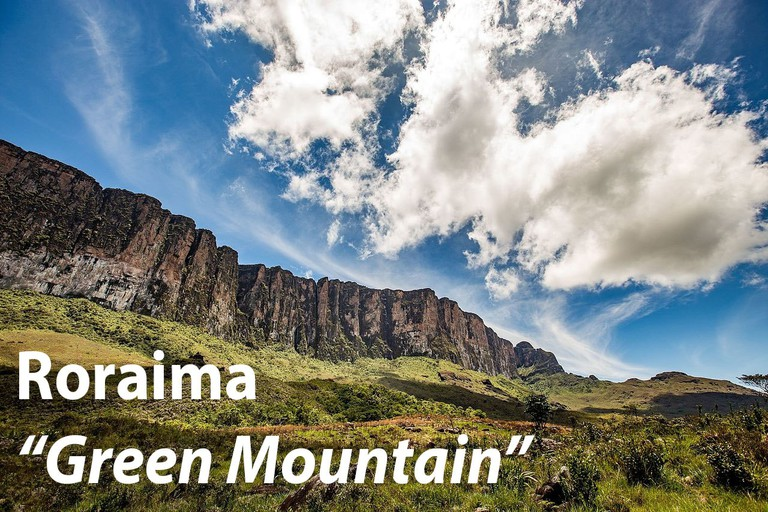 "Roraima, or ""Green Mountain"""