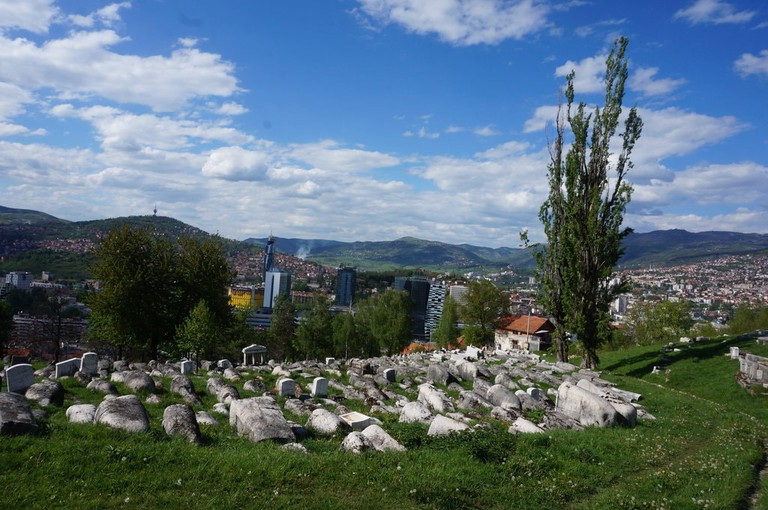 View from the Jewish Cemetery   © Sam Bedford