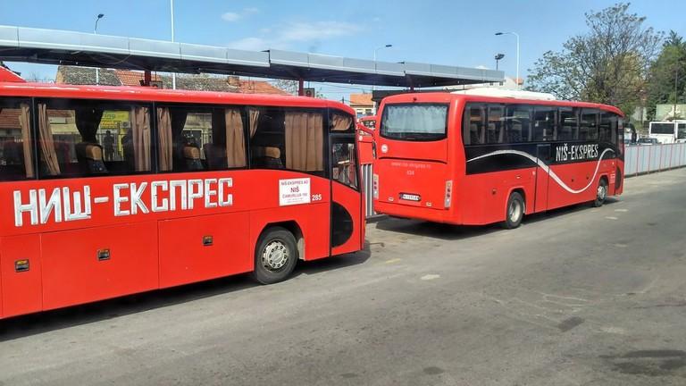 Buses in Balkans | © Sam Bedford