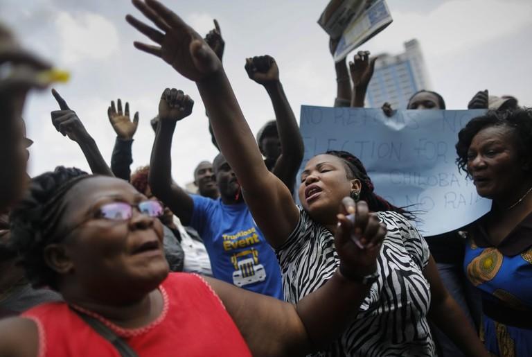 Opposition supporters protest against electoral commission, Nairobi, Kenya | © DAI KUROKAWA/EPA-EFE/REX/Shutterstock