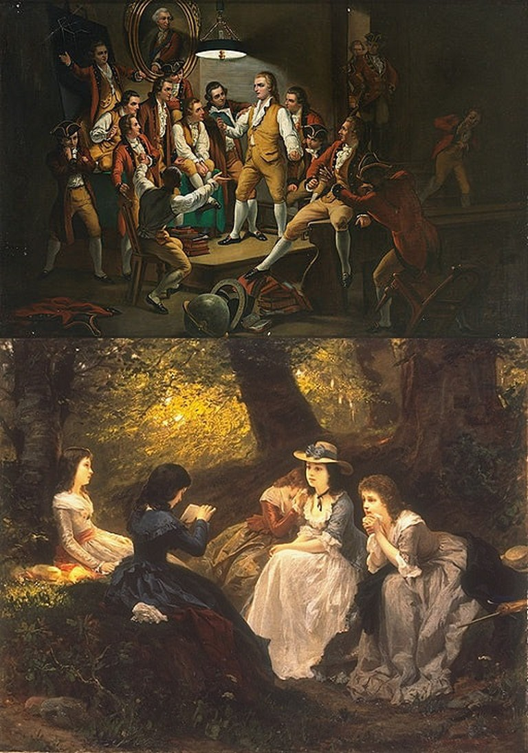 """Tell me more, tell me more"" - reading Schiller and Goethe 
