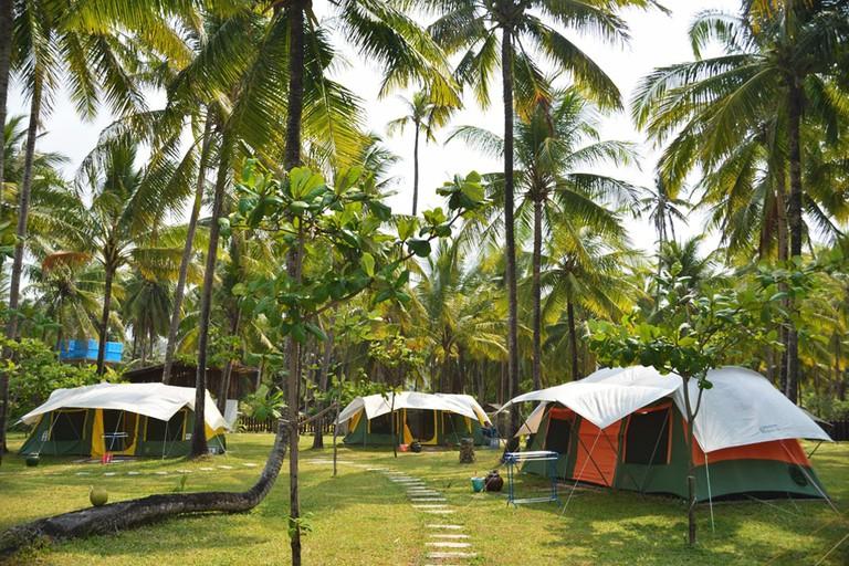 Seaside-Camping-at-Nwe-Saung-Beach