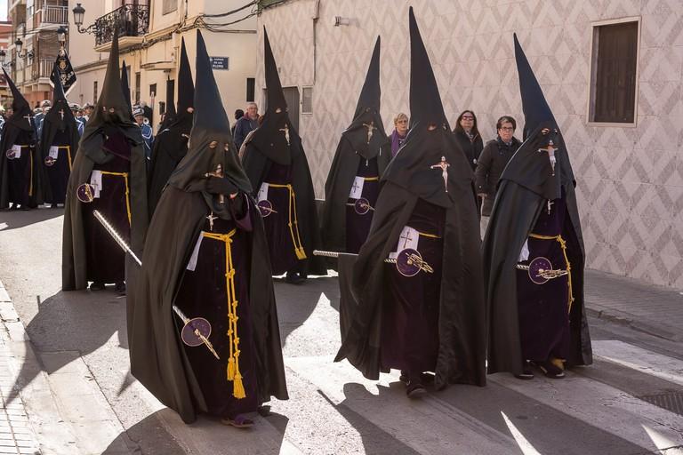 Semana Santa Marinera parade in Valencia.