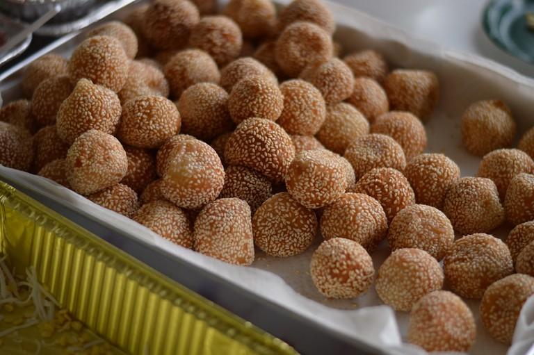 sesame balls 2