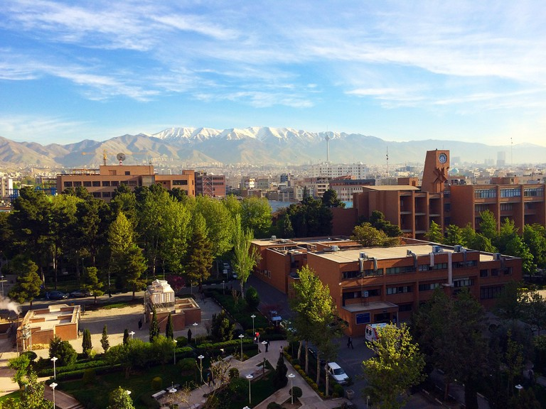 Sharif University of Tehran   ©MasoudK:flickr