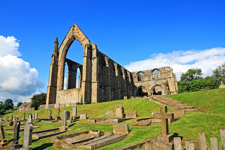 Bolton Abbey is in the district of Craven
