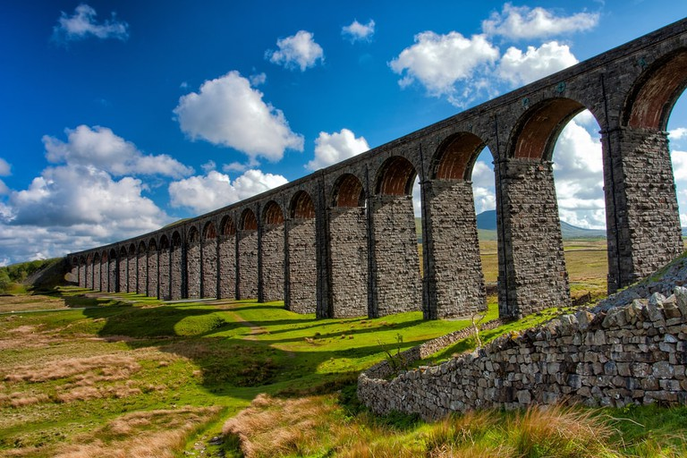 The Ribblehead Viaduct in Craven, a Grade II* listed structure from 1875