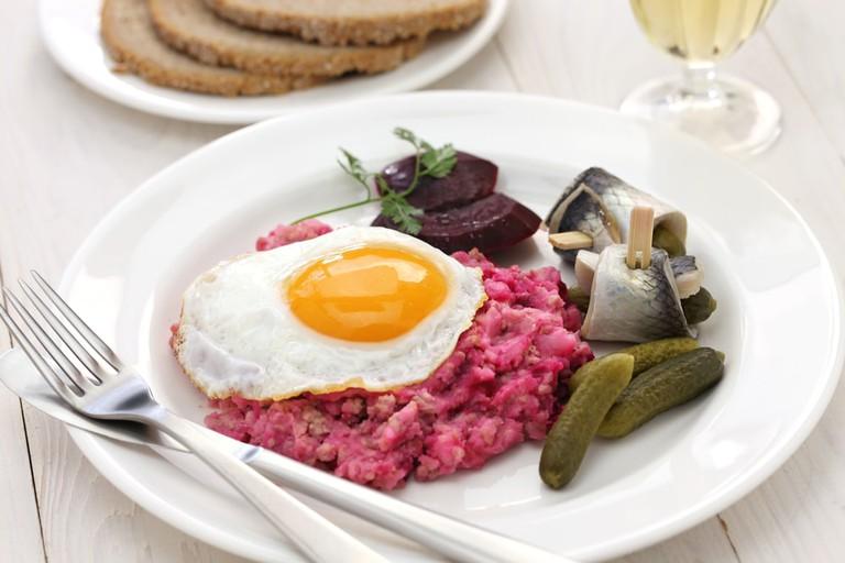 Labskaus, German dish