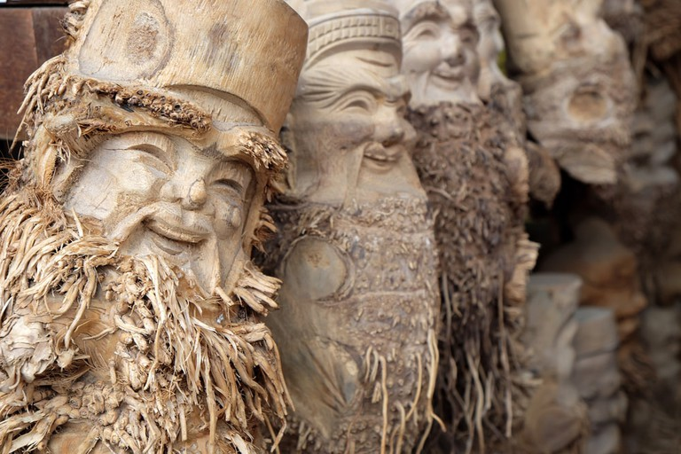 Creepy and beautiful faces | © xuanhuongho/Shutterstock