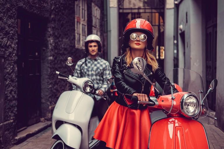 Italian ridin' & stylin' | © FXQuadro/Shutterstock