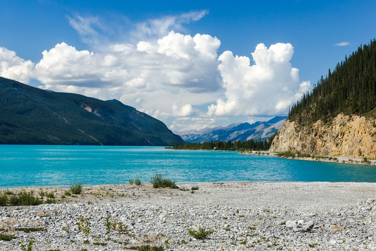 The colours of Muncho Lake
