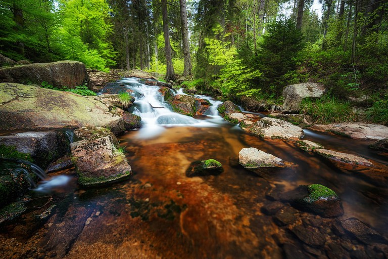 Braunlage in the Harz mountains