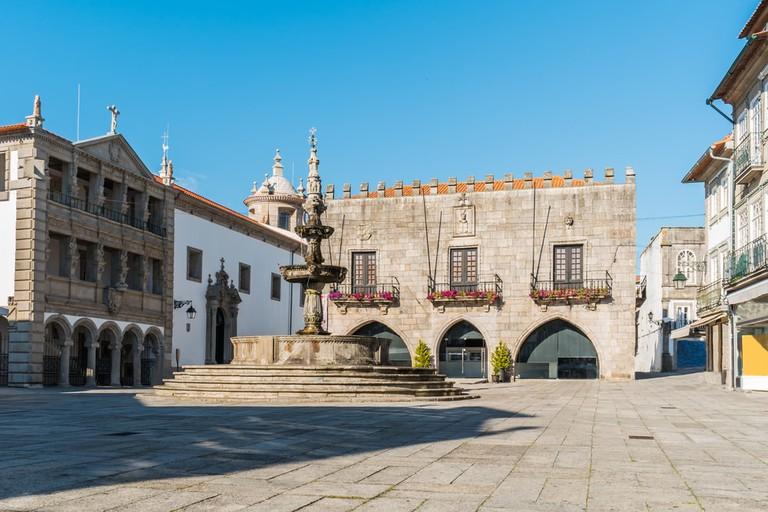 Praca da Republica in Viana do Castelo, Portugal   © AnaMarques/Shutterstock