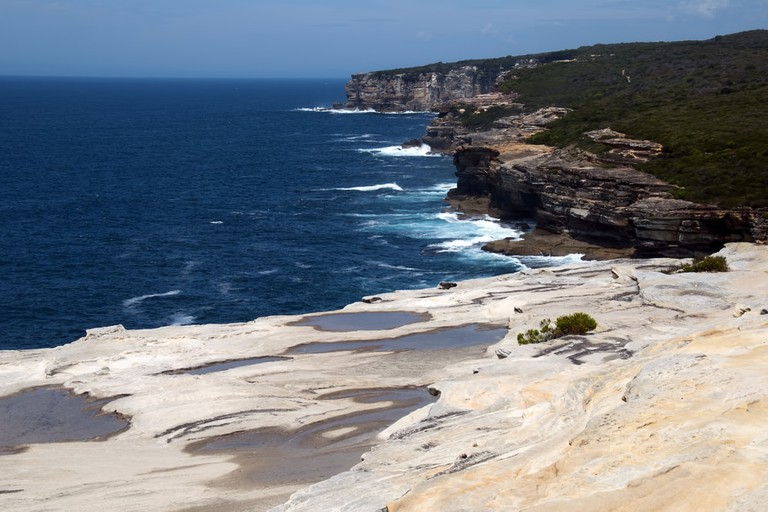 View along coastline in Royal National Park, Sydney, Australia | © demamiel62/Shutterstock