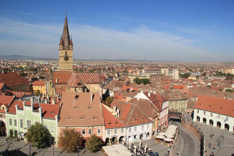 Sibiu's Eyes