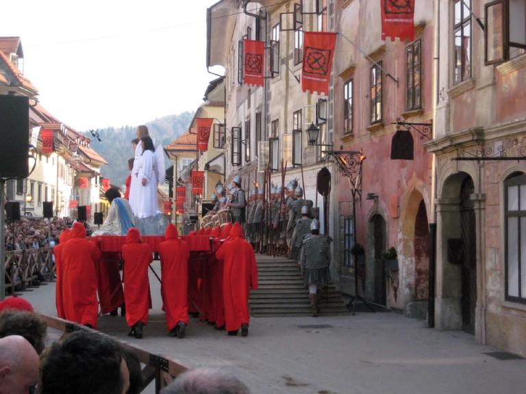 Škofja Loka Passion Play / Capuchin Bridge