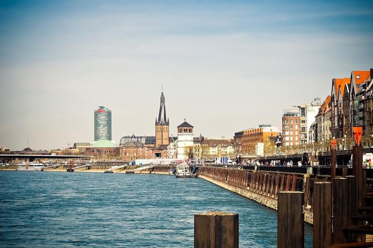 Rhine promenade