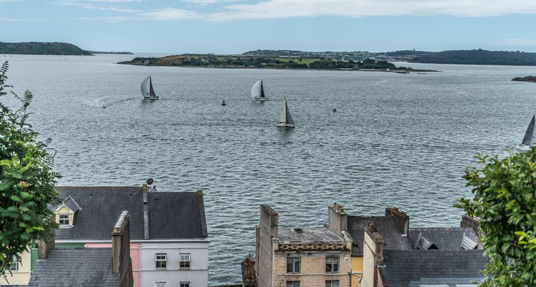 Spike Island from Cobh