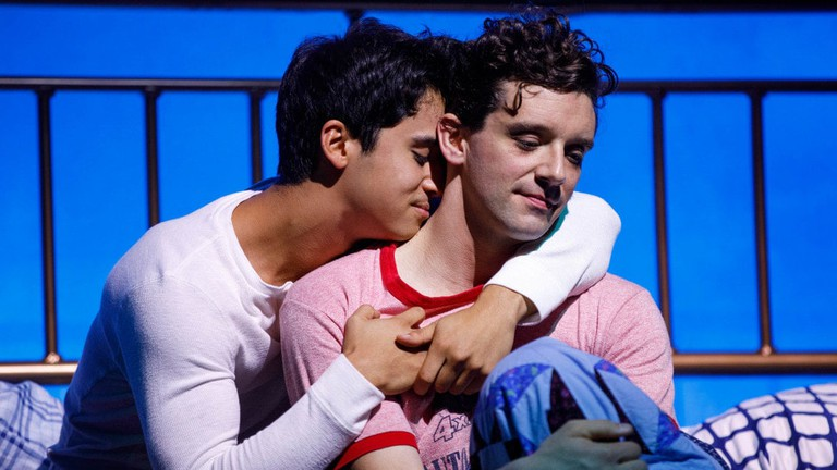 Michael Rosen (L) and Michael Urie in 'Torch Song'| © Joan Marcus