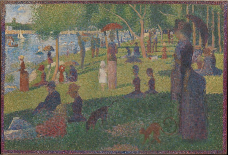 Study for 'A Sunday Afternoon on La Grande Jatte' | © The Metropolitan Museum of Art / WikiCommons