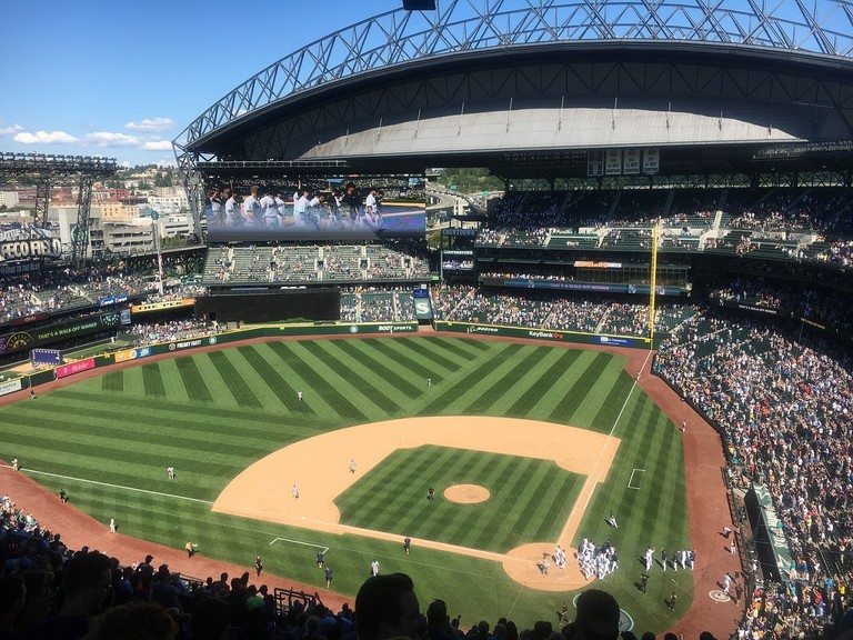 Seattle Mariners' current home of Safeco Stadium