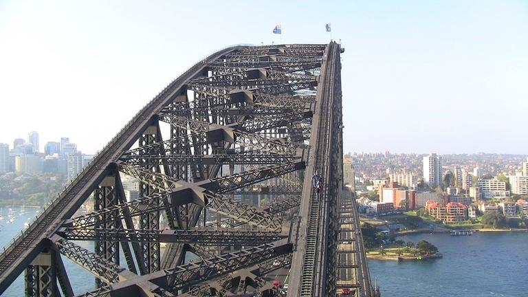 Sydney Harbour Bridge   © Reubentg/Wikimedia Commons
