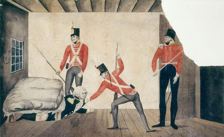 The Arrest of Governor Bligh   © Wikimedia Commons