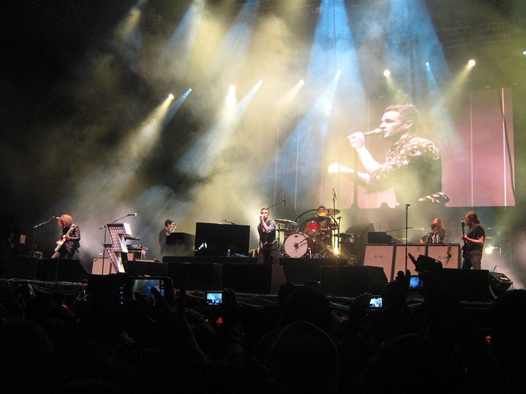 The Killers performing at Estéreo Picnic | © Todolector / Wikimedia Commons