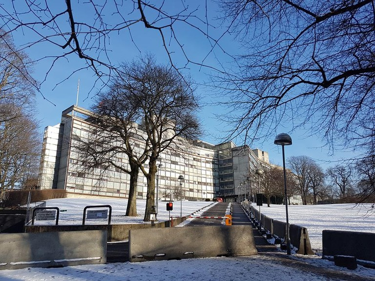 The police station in Grønland | Courtesy of Oslo Politidistrikt