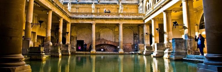 The Roman Baths, Bath | © Gary Ullah/Flickr