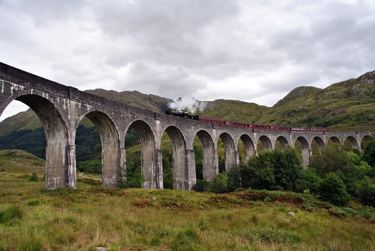 The West Highland Line | public domain / Pixabay
