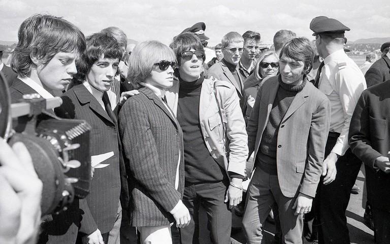 The_Rolling_Stones_på_Fornebu,_1965