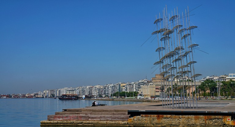 View of the waterfront, Thessaloniki