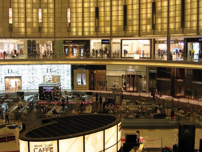 Dubai Mall's fashion avenue