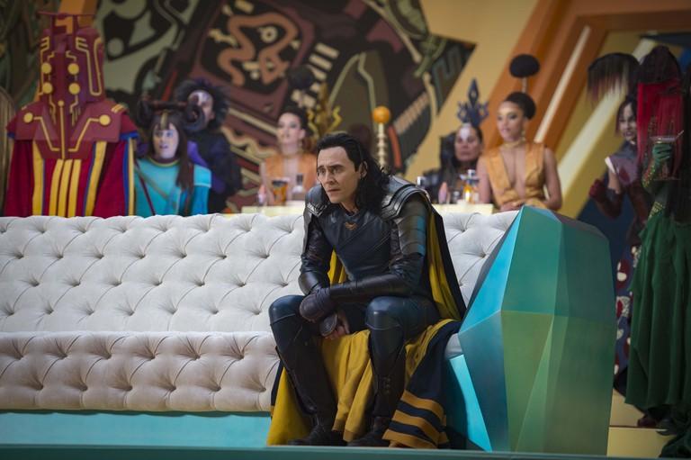 A Loki return... Tom Hiddleston as the God of Mischief © Marvel Studios 2017