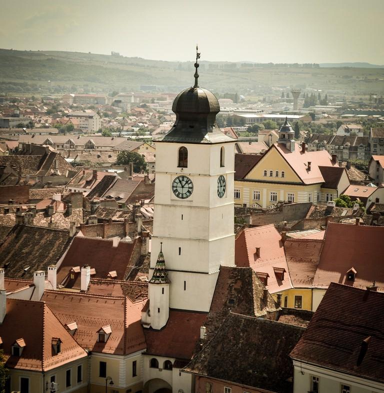 Sibiu's Council Tower