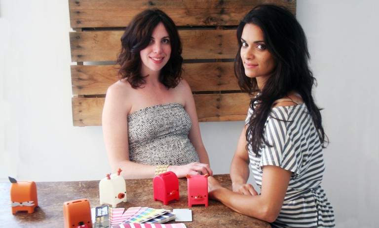 Toymail co-founders Audry Hill and Gauri Nanda | Courtesy of Toymail