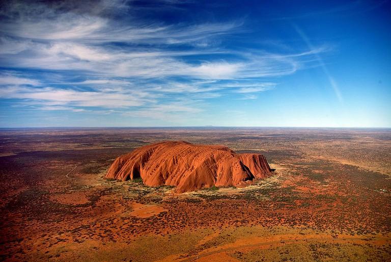 Uluru | © Corey Leopold/Wikimedia Commons