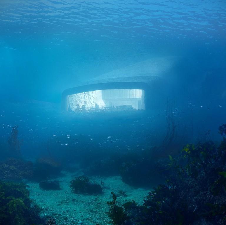 Underwater exterior | Courtesy of Snøhetta