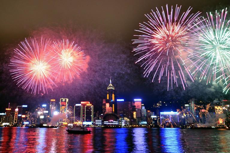 Victoria Harbour, Hong Kong | © Michael Elleray/Wikimedia Commons